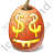 Halloween Pumpkin Easy Money Icon, PNG/ICO, 48x48