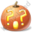 Halloween Pumpkin Wondering Icon