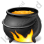 Halloween Cauldron Icon