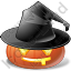 Halloween Pumpkin Celebrate Icon, PNG/ICO, 64x64