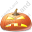 Halloween Pumpkin Frown Icon