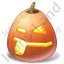 Halloween Pumpkin Impish Icon