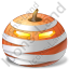 Halloween Pumpkin Mummy Icon