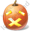Halloween Pumpkin Stop Icon
