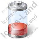 Battery Power Quarter Icon