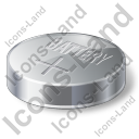Battery Button Cell Icon