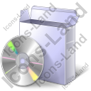 CD Box CD Icon