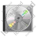 CD Case 2 Icon, PNG/ICO, 128x128