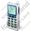 Cell Phone Old Icon, PNG/ICO, 128x128