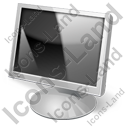 Display LCD Off Icon, PNG/ICO, 128x128