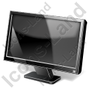 Display LCD Widescreen Icon, PNG/ICO, 128x128