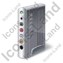 External TV Tuner Icon, PNG/ICO, 128x128