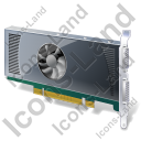 Graphics Card Icon, PNG/ICO, 128x128