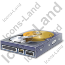 Hard Disk Drive Interior Icon