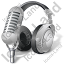 Headphones Microphone 2 Icon