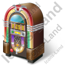 Jukebox Icon, PNG/ICO, 128x128