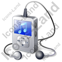 MP3 Player 1 Icon