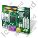 Motherboard Icon, PNG/ICO, 128x128