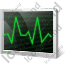 Oscilloscope Display Icon