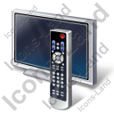 Plasma Display Remote Control Icon