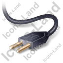 Power Cord Black Icon