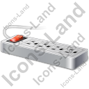 Power Strip 2 Icon, PNG/ICO, 128x128