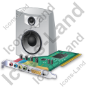 Sound Card Speaker Icon