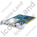 TV Tuner Card 1 Icon, PNG/ICO, 128x128