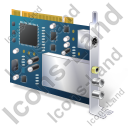 TV Tuner Card 2 Icon, PNG/ICO, 128x128