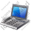 Video IP Phone Icon