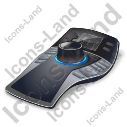 3D Mouse Professional Icon