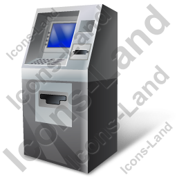 ATM Machine Icon