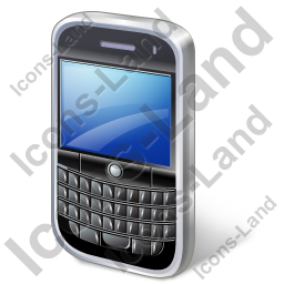 BlackBerry Icon, PNG/ICO, 256x256