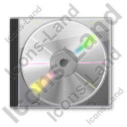 CD Case 2 Icon, PNG/ICO, 256x256