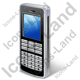Cell Phone Bar Icon