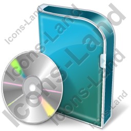 DVD Box DVD Icon, PNG/ICO, 256x256