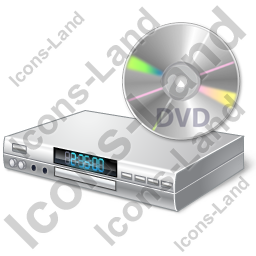 DVD Player Disc Icon