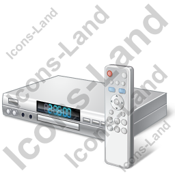 DVD Player Remote Control Icon