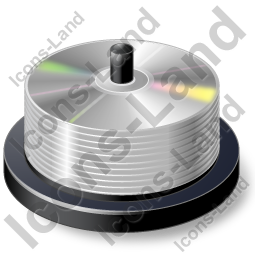 Disc Spindle Icon, AI, 256x256