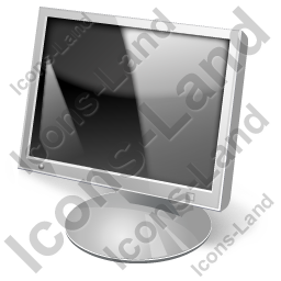Display LCD Off Icon, PNG/ICO, 256x256