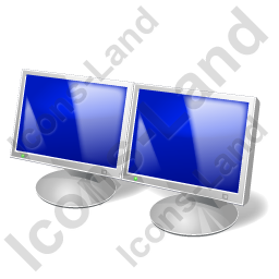 Display LCD Two Icon