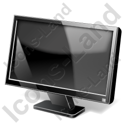 Display LCD Widescreen Icon