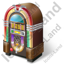 Jukebox Icon, PNG/ICO, 256x256