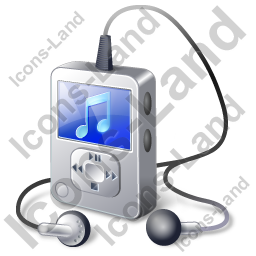Mp3 Player 1 Icon Png Ico Icons 256x256 128x128 64x64 48x48 32x32 24x24 16x16