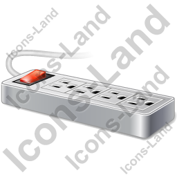 Power Strip 2 Icon, PNG/ICO, 256x256