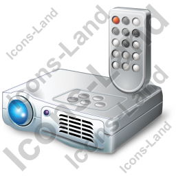 Projector 1 Remote Control Icon