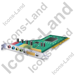 Sound Card 1 Icon