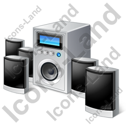 Speaker System 5.1SurroundSound Icon