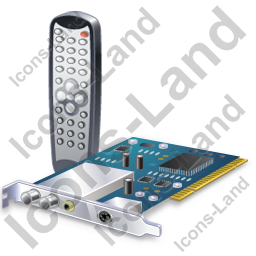 TV Tuner Card 1 Remote Control Icon