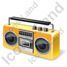 Tape Recorder Cassette Retro Icon